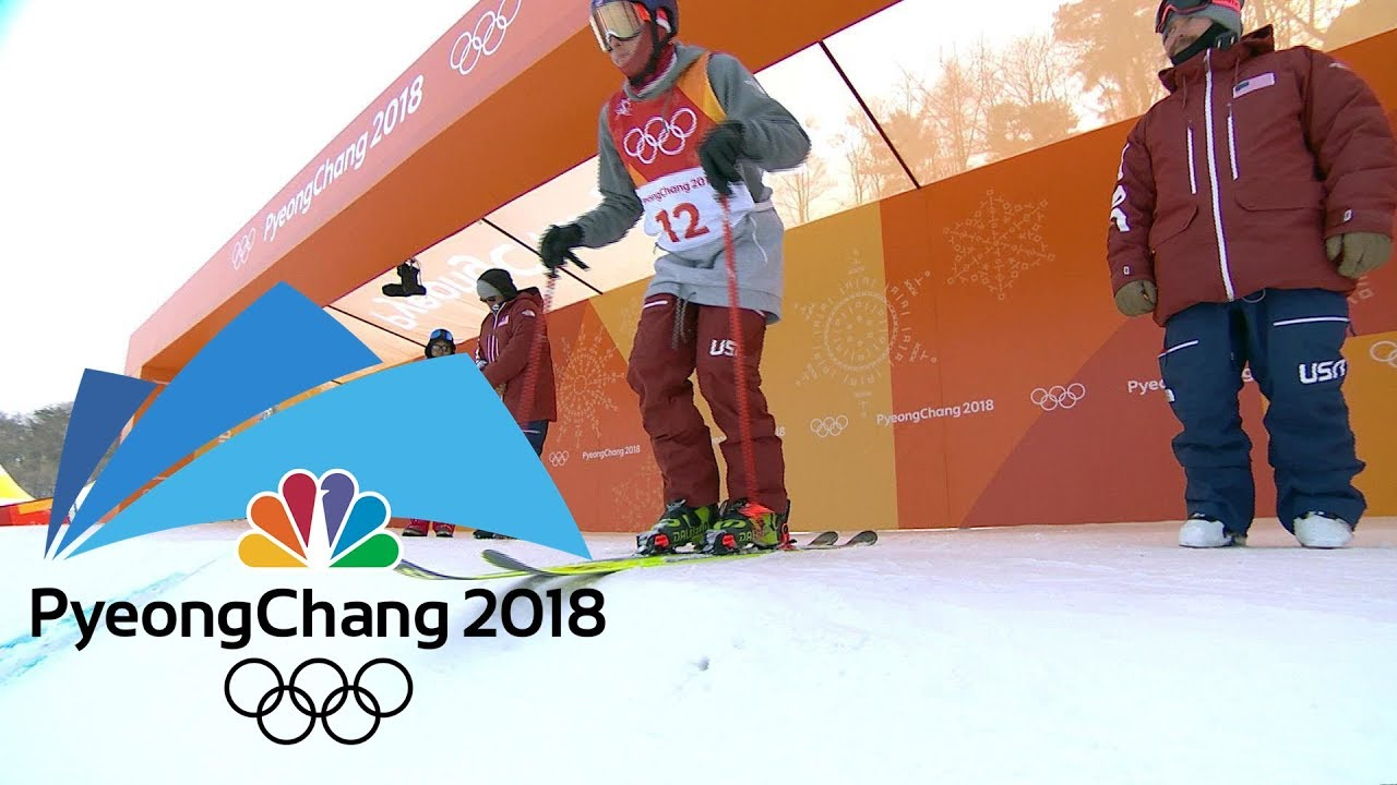 2018 Winter Olympics I Men's ski slopestyle in 360 VR