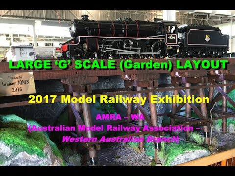 2017 AMRA Large Scale Trains, Perth, Western Australia