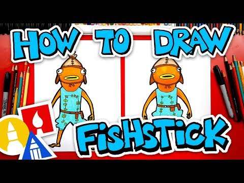 How To Draw Fishstick From Fortnite
