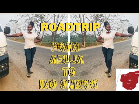 ROAD TRIP TO OWERRI || I VISITED IMO STATE THE EASTERN PART OF NIGERIA FOR THE FIRST TIME