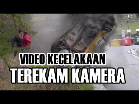 Jangan Lihat! Yang Tidak Tegaan, Video Kecelakaan yang terekam Kamera