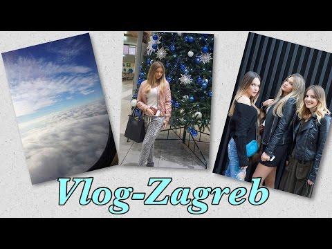VLOG- Zagreb! Prvi put sama idem avionom?