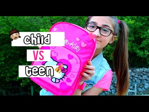 Child VS Teen - Morning routine