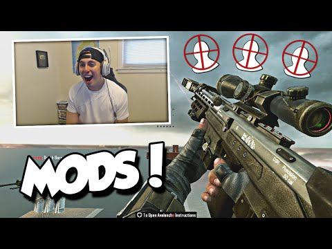 HOW IS HE SO GOOD AT THIS! (BO2 Hacked/Modded Lobby ft. Fans)