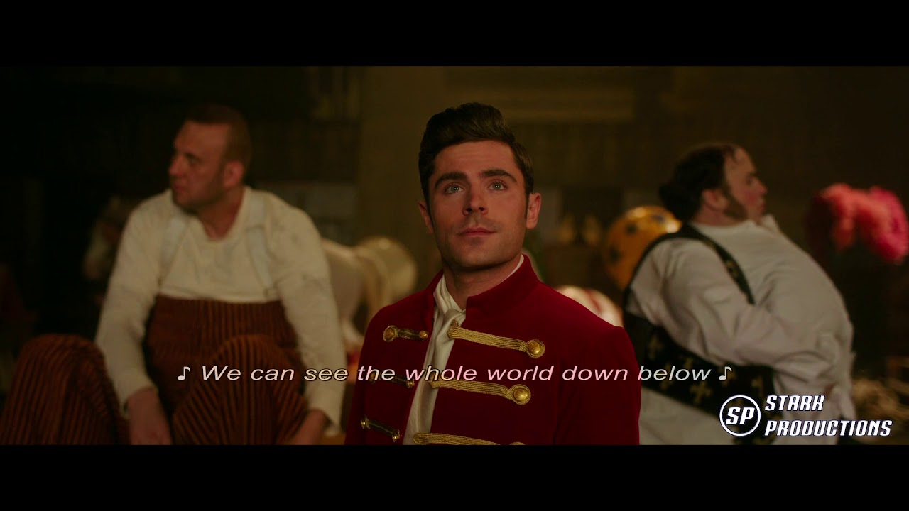 The Greatest Showman Tightrope 1080p Sub Youtube