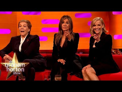 Jennifer Aniston & Reese Witherspoon Take A Friends Quiz   The Graham Norton Show