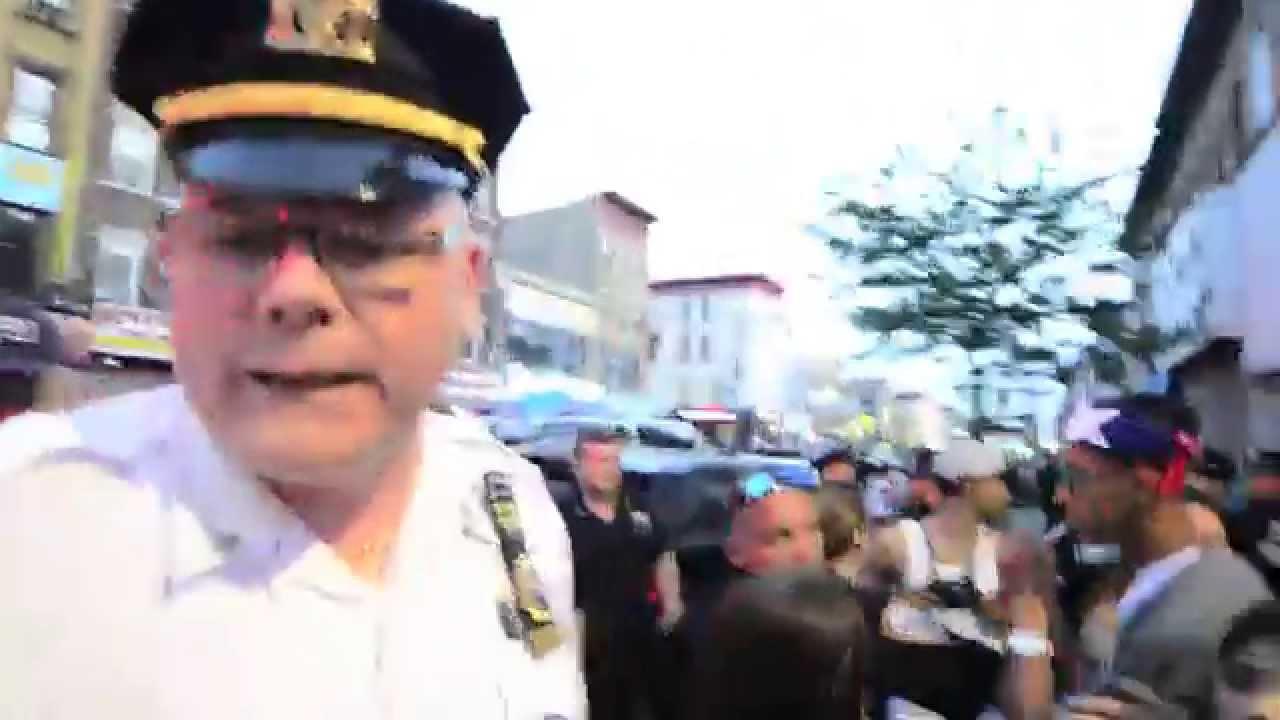 Nypd Lieutenant Mcneil 72nd Precinct Lying On Camera