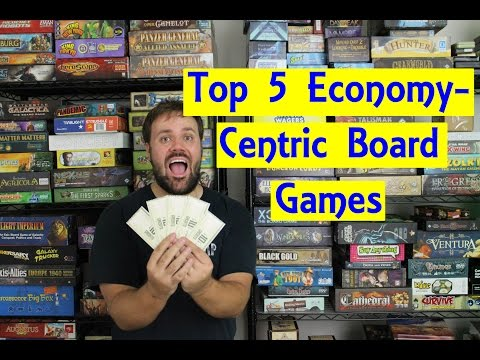 Top 5 Economy-Centric Board Games