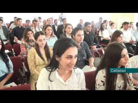 """Cəlilabadda  144  gənc pedaqoq """"müəllim andı"""" içib"""