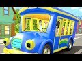 Wheels on the Bus - Cartoon Nursery Rhymes for Kids by Little Treehouse