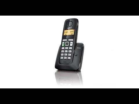 Обзор радиотелефона Gigaset A220 - Digital Cordless Telephone Review Unboxing