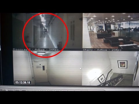 UNEXPLAINED | Creepy Ghost Security Footage | Five Nights at Freddy's Real Life?