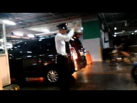 Filipino Guard at the parking lot got his talent