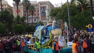 Entierro Del Boquerón Carnaval De Málaga 2014
