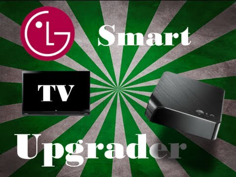 LG Smart TV Upgrader-Unboxing