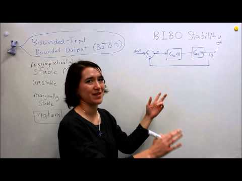 Intro to Control - 8.4 Bounded-Input Bounded-Output (BIBO) Stability