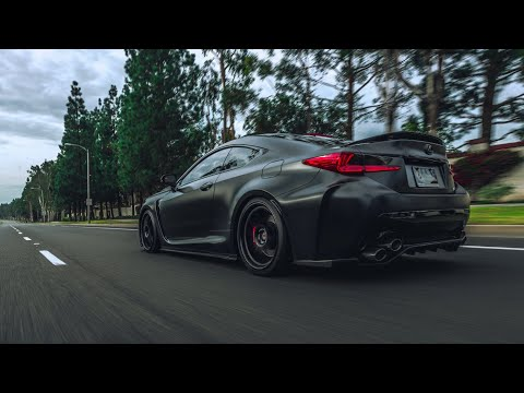 Lexus RCF GT Haus exhust! Startup, flyby's, revs and driving clips!