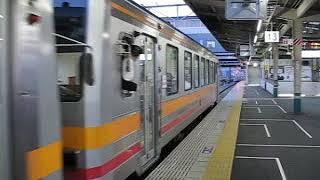 【ドアがバスみたいな扉】キハ120系普通津山行発車(岡山駅13番のりば)【現9番のりば】
