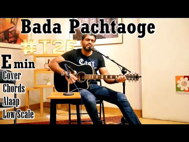 Bara Pachtaoge | Live and Unplugged | Guitar Cover | Atif Aslam Version | Talha Nadeem