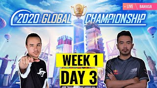 [Bahasa] PMGC 2020 League SW1D1 | Qualcomm | PUBG MOBILE Global Championship | Super Weekend 1 Day 1