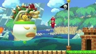 Repeat youtube video Super Mario Maker - 100 Mario Challenge #124 (Expert Difficulty)