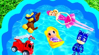 Learn Characters with Peppa Pig and Paw Patrol - For Kids - Colors for Kids
