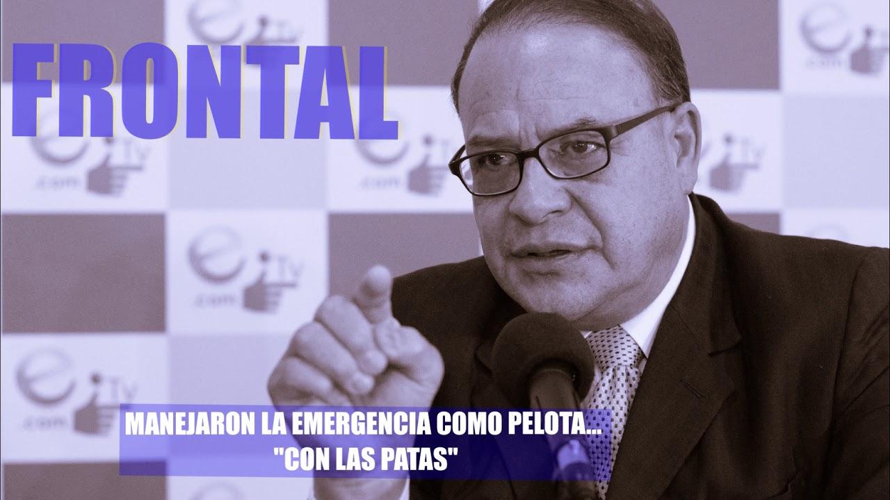"MANEJARON LA EMERGENCIA COMO PELOTA... ""CON LAS PATAS"""
