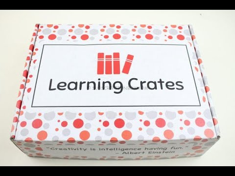Learning Crates March 2019 Unboxing + Coupon | Books For Children