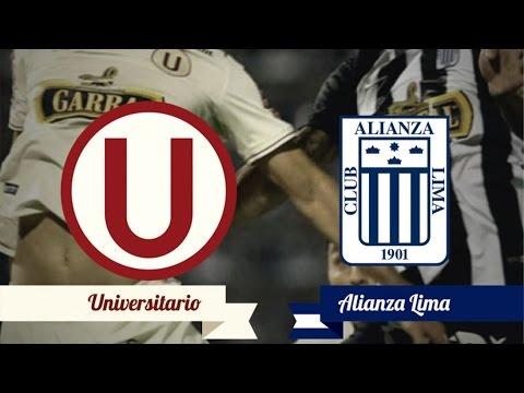 Universitario vs Alianza Lima   [Partido Completo]  | Clasico del Futbol Peruano | Clausura 2016