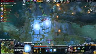 EG vs Rave - Game 1 (Summit 3 - LAN Finals) - LD, GODz, & Synd
