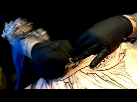 LACEnano and Mike Johnson - Stechwerk tattoo studio Berlin