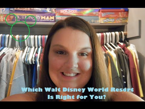 Which Walt Disney World Resort is Right for You?