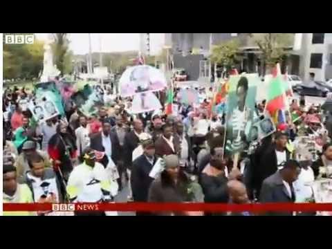 Anger over 'violent crackdown' at protest in Ethiopia