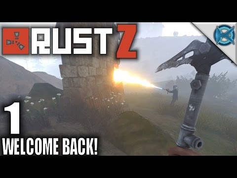 Rust GangZ   Welcome Back!   Let's Play Rust Team-based Multiplayer PvP Gameplay   S01E01