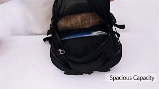 Backpack for Laptops Up to 18.4 Inch Hiking Backpack Water Resistant Travel Computer Backpack