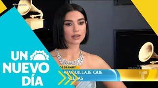 ¡Mira las tendencias de maquillaje en los Grammy 2019! | Un Nuevo Día | Telemundo