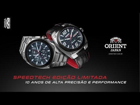 Speedtech | Orient Relógios - web