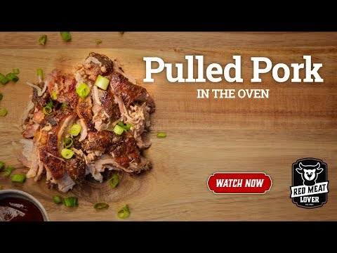 Pulled Pork Baked In Oven - PERFECT For Nachos, Tacos, & Sandwiches!