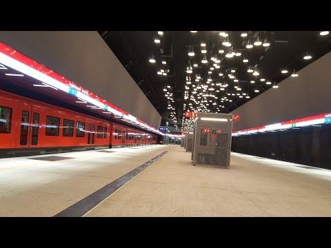 Länsimetro 14.11.2017 Lauttasaari-Matinkylä-Ruoholahti, Helsinki West Metro first passanger ride