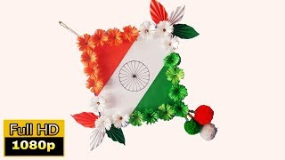 republic day craft ideas | republic day project work | indian flag wall hanging | republic day