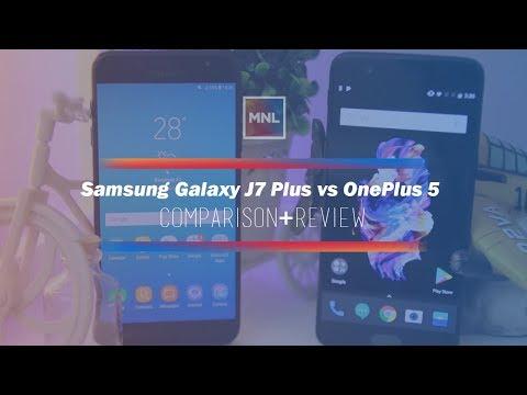 Samsung Galaxy J7 Plus vs OnePlus 5 Comparison + Review