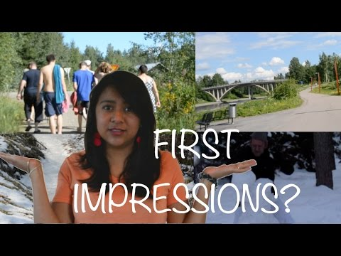 10 FIRST IMPRESSIONS IN FINLAND!