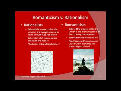 Walden and Transcendentalism (e-lesson)