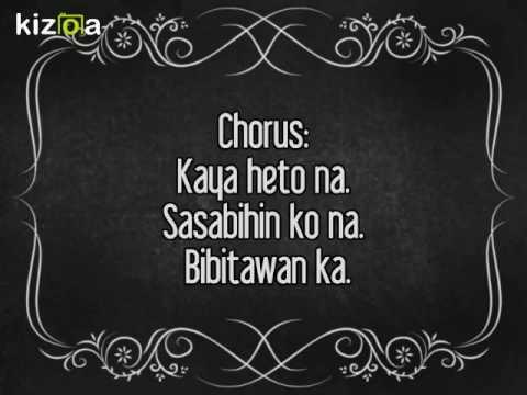 Bibitawan ka - JURIS Lyrics [Tubig at Langis OST]