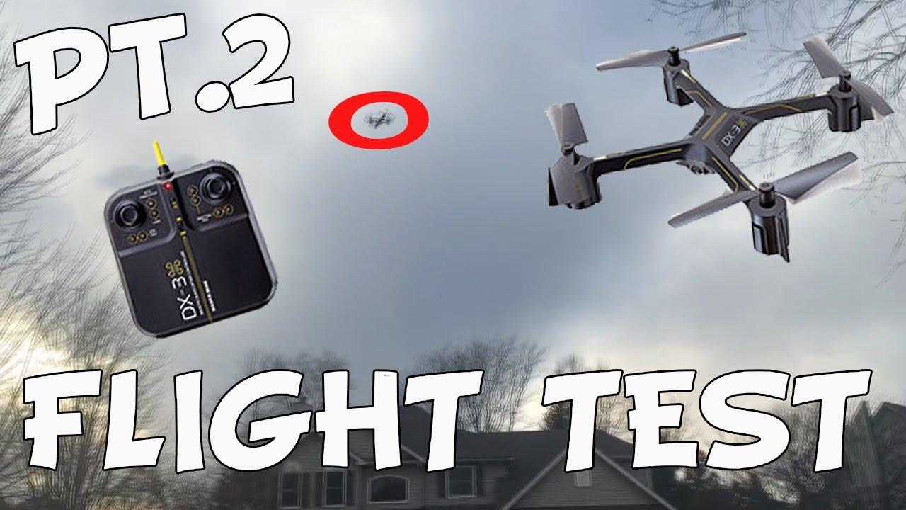 Sharper Image Dx 3 Drone Flight Test Review Part 2 Youtube