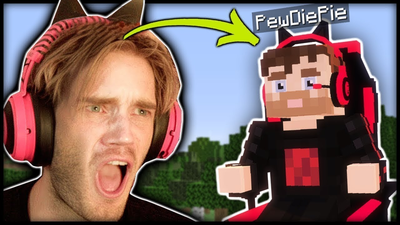 I found a PewDiePie Boss in Minecraft! (Real) - Part 26
