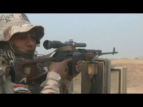 EXCLUSIVE - Iraq: Elite forces liberate the Christian village of Karamles en route to Mosul