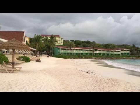 Walk Along Long Bay Antigua 2016