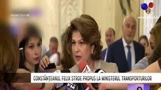 Constănțeanul Felix Stroe propus la Ministerul Transporturilor - Litoral TV