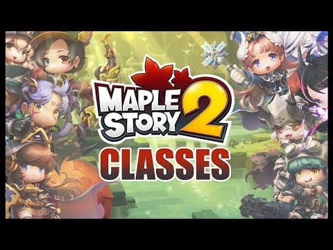 Maplestory 2 classes - Gameplay and information!